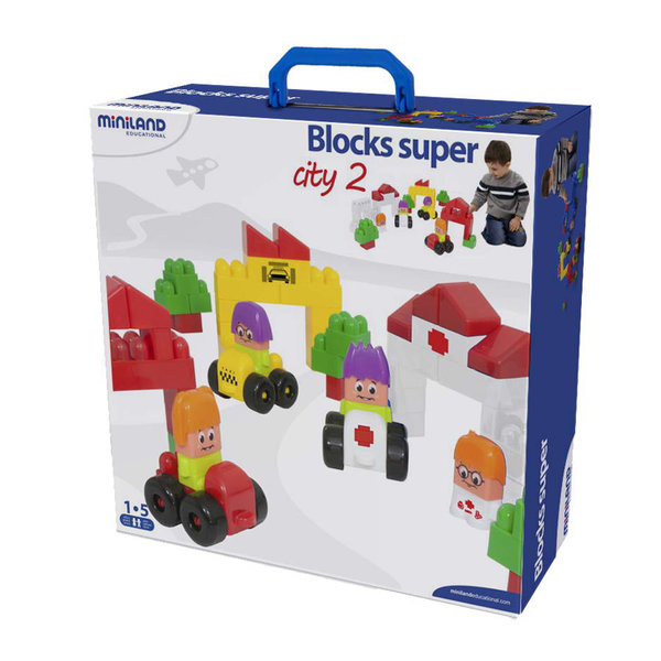 Miniland Super Blocks: City 2